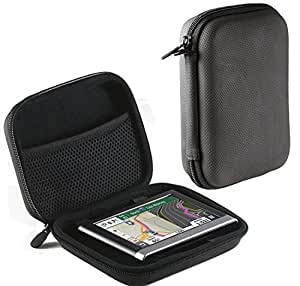 Navitech Black Hard Carry Case Cover For The Garmin Nuvi 65 / 65LM / 65LMT / 66LM / 66LMT, [Importado de UK]