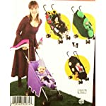 Simplicity Costume Pattern 2792 ~ Pirate, Princess, Sweet Peas in a Pod, Bumblebee, Coordinating Decorations for Umbrella Stroller ~ Toddler Sizes 1/2-4