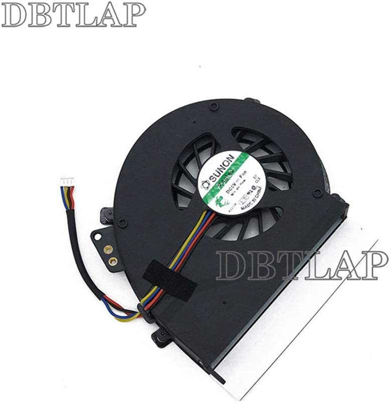 DBTLAP Laptop CPU Fan Compatible for Acer Extensa eMACHINES E528 E728 CPU Cooling Fan 4-Wires