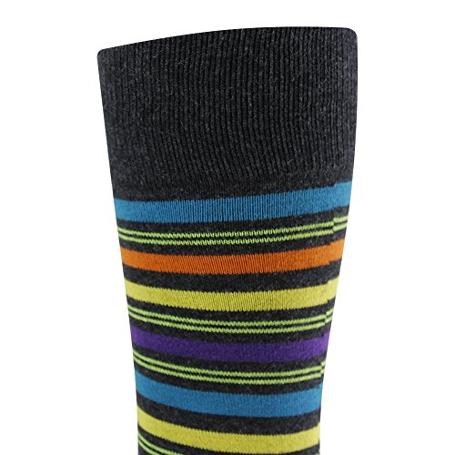 Colorful Cotton Socks, LADUNCIAGA Business Wedding Socks 6 Pack Designed Novelty Happy Funny Crew Colorful Stripe Bridgegroom Groomsmens Socks by LANDUNCIAGA (Image #9)