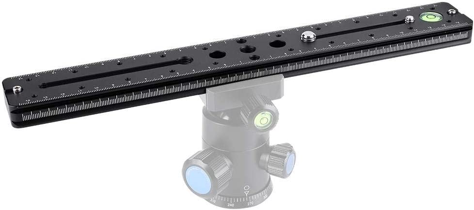 Simlug Camera Bracket Quick Release Plate BPL-300 Rail Nodal Slide Plate Aluminum Alloy Quick Release Clamp for Camera
