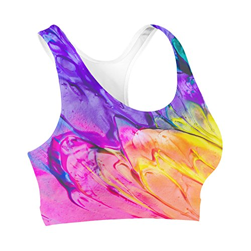 Queen of Cases Painting in Progress Sports Bra – XS Review