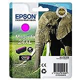 Epson 24 X-Large Series Elephant Ink Cartridge, Magenta, Genuine