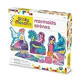 The Orb Factory Sticky Mosaics Mermaids Arts & Crafts, Blue/Yellow/Orange/Purple, 12'' x 2'' x 10.75''