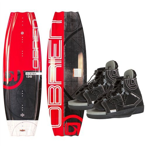 O'Brien System Wakeboard with Clutch 8-11 Bindings,, used for sale  Delivered anywhere in USA