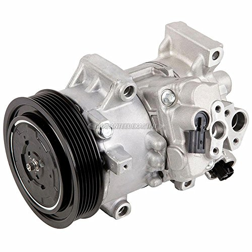 AC Compressor & A/C Clutch For Toyota Corolla & Matrix - BuyAutoParts 60-03176NA New -