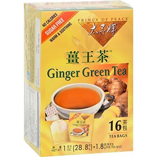 Prince Of Peace Tea Ginger Green 16 Bag ()