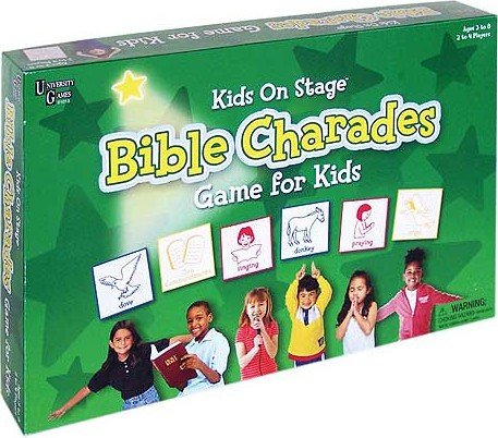 Bible Kids On Stage Charades