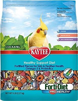 Kaytee Forti Diet Pro Health Bird Food for Cockatiels