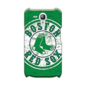 Shock Absorption Hard Phone Cases For Samsung Galaxy S3 Mini (Dty14666twHV) Allow Personal Design High-definition Boston Red Sox Image