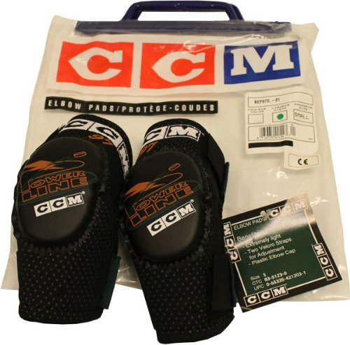 Ccm Elbow Pad - CCM BOYS ELBOW PADS SIZE SMALL Powerline BEP975