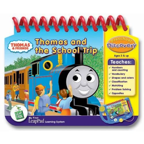 """LeapFrog: My First LeapPad Learning System-""""Thomas and Me School Trip"""""""