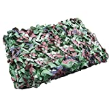 "ZJchao Woodland Camouflage Camo Net netting Camping Military Hunting 39*78"" 1mx2m"