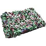 ZJchao Woodland Camouflage Camo Net Netting Camping Military Great For Hunting, Shooting, Fishing