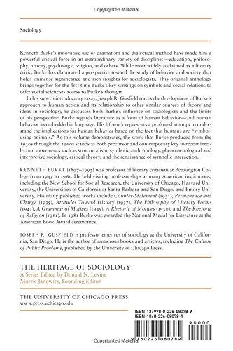 On Symbols And Society Kenneth Burke Joseph R Gusfield