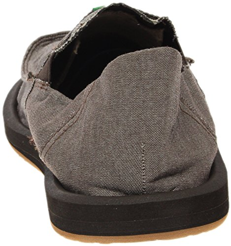 Mocasines para Chambray 29418012 Sanuk Brown de tela hombre Pocket Pick qpwUP