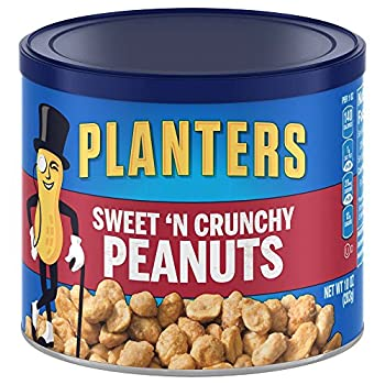 Planters Peanuts, Sweet N Crunchy, 6 Count, 60 Ounce 0