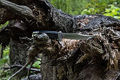 Buck Knives 0102 Woodsman Fixed Blade Knife with Sheath