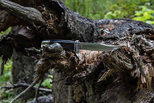 Buck Knives 0102 Woodsman Fixed Blade Knife with Sheath