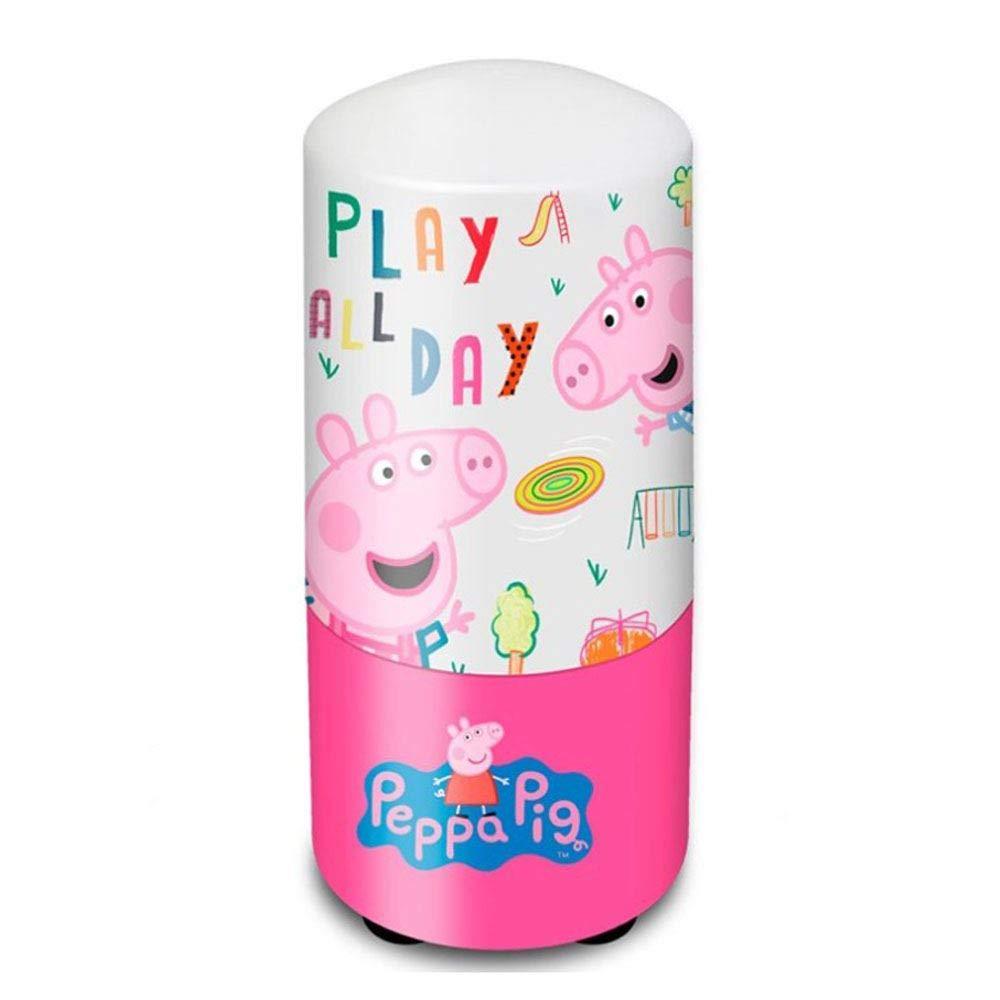 PEPPA PIG Lampara de Mesa de Noche Hogar Unisex Infantil ...