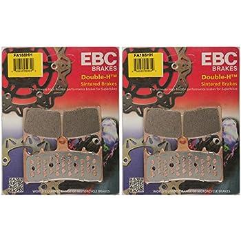 EBC HH SINTERED REAR BRAKE PADS 2000-2003 KAWASAKI ZX 900 NINJA ZX-9R