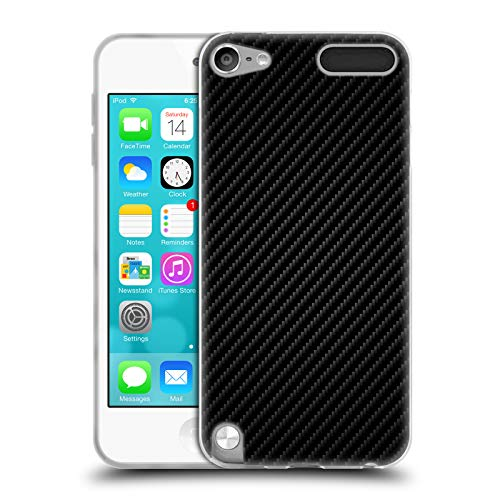 Carbon Fiber Ipod Touch Case - Official Alyn Spiller Plain Carbon Fiber Soft Gel Case for Apple iPod Touch 5G 5th Gen
