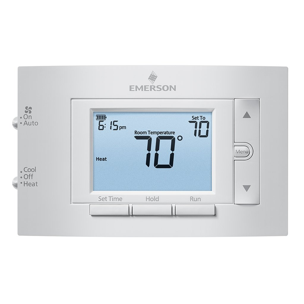 Emerson 1F83C-11PR Conventional (1H/1C) Programmable Thermostat - -  Amazon.com