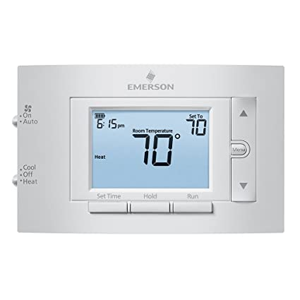 Wondrous Emerson 1F83C 11Pr Conventional 1H 1C Programmable Thermostat Wiring 101 Swasaxxcnl