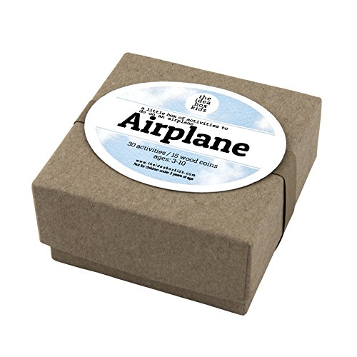 The Idea Box Kids MINI Airplane Box: Activities for Kids on an Airplane - Kids Travel Activities (Kids For On Airplane Games)