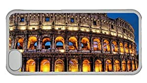 Hipster popular iPhone 6 (4.5) case Rome Colosseum PC Transparent for Apple iPhone 6 (4.5)