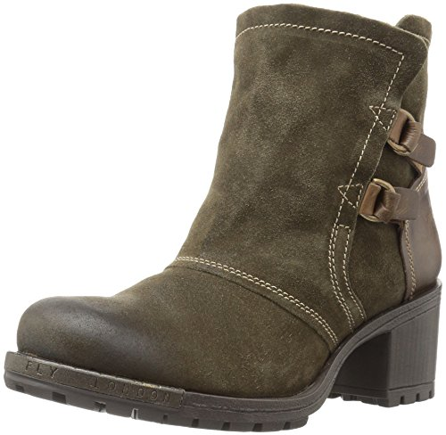 FLY London Womens Lory048fly Fashion Boot Sludge/Olive Oil Suede/Rug