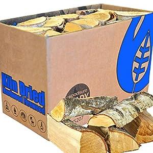 EcoBlaze Legna da Ardere premio tronchi di legno duro da 25 cm essiccati al 20% - caminetti, stufe, fornelli a legna… 5 spesavip