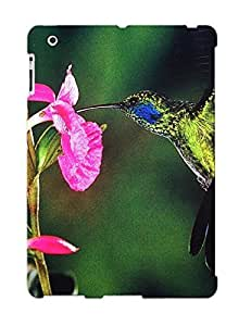 Awesome Hxsclq-919-eypsvju Justingooden Defender Tpu Hard Case Cover For Ipad 2/3/4- Animal Hummingbird