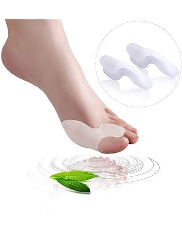 Juego de 1 almohadillas para juanetes y separador de dedos - 1 par de almohadillas de