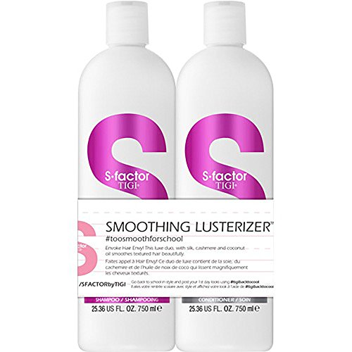 how to use tigi s factor smoothing lusterizer