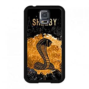 Ford Mustang SHELBY Logo design phone funda For Samsung Galaxy S5,Plastic funda Cover For Samsung Galaxy S5