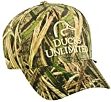 Mossy Oak Ducks Unlimited Shadow Grass Blades Structured Cap
