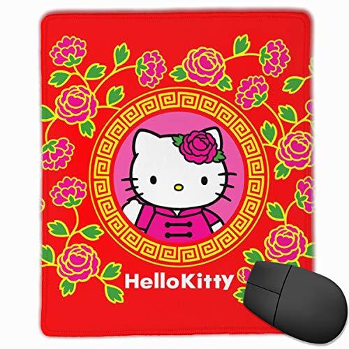 Hello Kitty Desktop - Anti-Slip Mouse Pad Hello Kitty Red Premium Mouse Pad for Desktop Laptop Keyboard Consoles