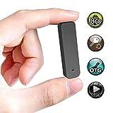 Mini Voice Recorder,8GB Small Digital Sound Audio Voice Recording Device One Button Recording