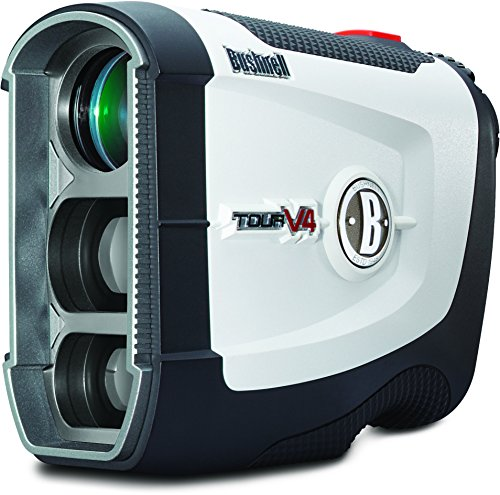 Bushnell Tour V4 JOLT Golf Laser Rangefinder, Standard Version - Standard Golf Golf Flag