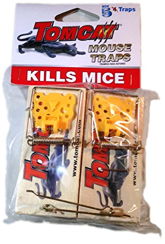 Tomcat Wooden Mouse Traps, New 5 - Trap Tomcat Snap