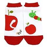 Shinzi Katoh A Pair of Ladies Socks (Women's Socks) - Apple & warm Design