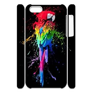 Rainbow CUSTOM 3D Hard Case for iPhone 5C LMc-40540 at LaiMc