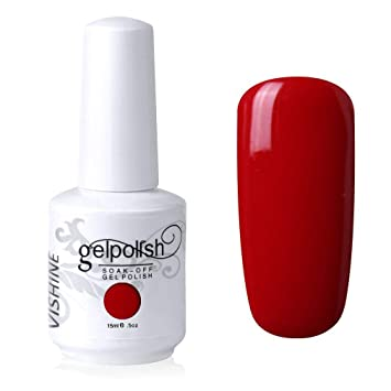 Amazon Com Vishine Gelpolish Lacquer Shiny Color Soak Off Uv Led