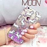 Bellyanna Unicorn Liquid Quicksand Glitter Phone Case for Iphone 5c