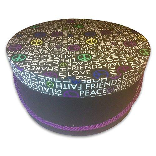 Hat Gift Box - Love & Peace