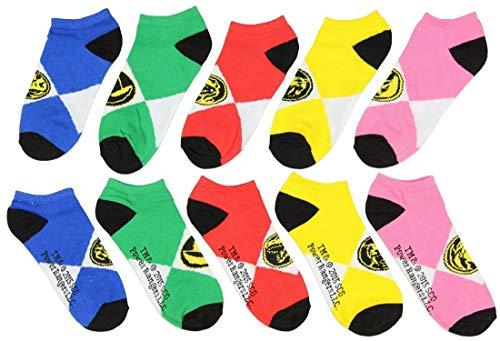 Power Ranger Ankle Socks (Power Ranger Set) sock size: 9-11fits shoe size: 5-10