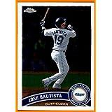 2011 Topps Chrome #76 Jose Bautista Joey Bats TORONTO BLUE JAYS