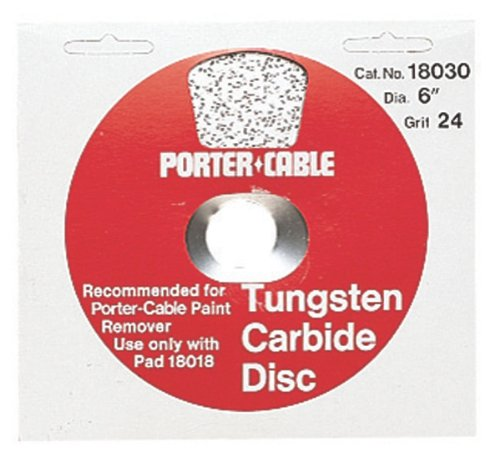 PORTER-CABLE 18030 24 Grit Carbide Disc (for Model 7403P)