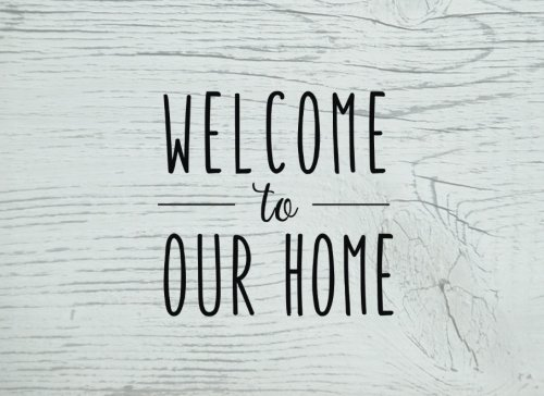 Welcome To Our Home  An Airbnb Guest Book  Guestbook For Vacation Rentals  Airbnb   More